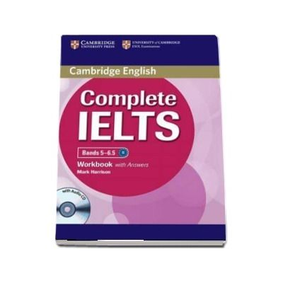 Complete IELTS Bands 5-6.5 Workbook with Answers with Audio CD - Mark Harrison