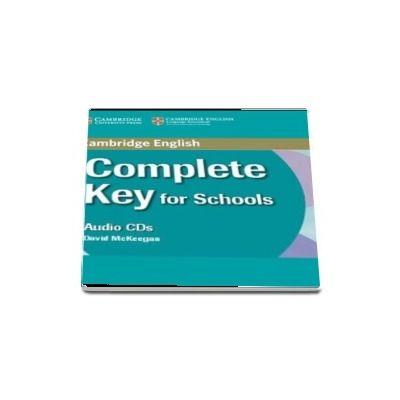 Complete Key for Schools Class Audio CD - David McKeegan