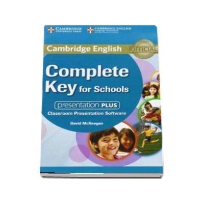 Complete Key for Schools Presentation Plus DVD-ROM -  David McKeegan