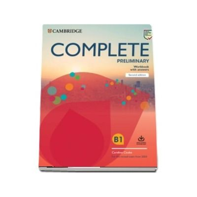 Complete Preliminary Workbook with Answers with Audio Download : For the Revised Exam from 2020