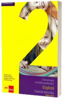 Comunicare in limba moderna 1, engleza. Caietul elevului pentru clasa a II-a. Quick Minds, Level 2