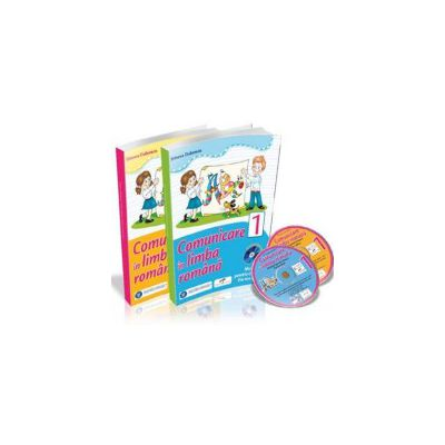 COMUNICARE IN LIMBA ROMANA. Manual pentru clasa I - Partea I si Partea a II-a (Cu 2 cd-uri) - Simona Dobrescu