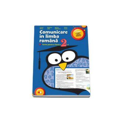 Comunicare in limba romana. Teste pentru clasa a II-a