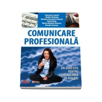 Comunicare profesionala, manual pentru clasa a X-a. Un ghid util pentru comunicarea in afaceri
