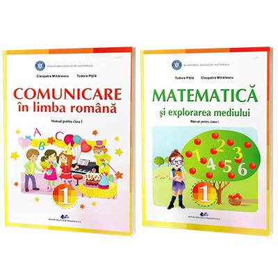 Set de autori Tudora Pitila si Cleopatra Mihailescu - Matematica si Comunicare in limba romana, manuale pentru clasa I