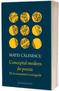 Conceptul modern de poezie. De la romantism la avangarda - Matei Calinescu