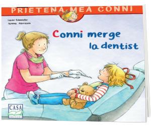 Conni merge la dentist