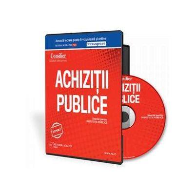 Consilier Achizitii Publice - Format CD