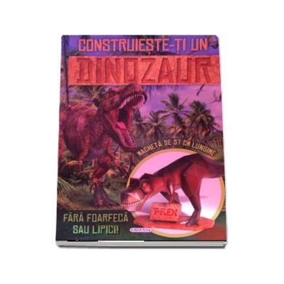 Construieste-ti un dinozaur. Fara foarfeca sau lipici - Macheta de 57 cm lungime