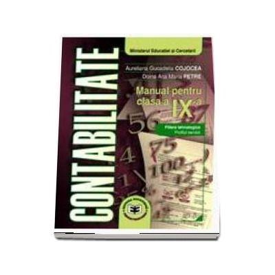 Contabilitate. Manual pentru clasa a IX-a