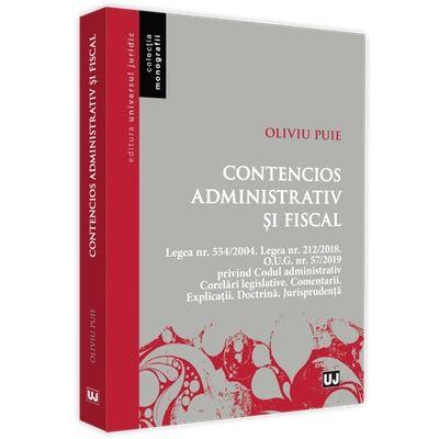 Contencios administrativ si fiscal