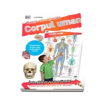 Corpul uman. Planse educationale
