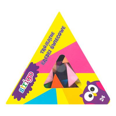Creioane cerate, Piramida, 24 culori