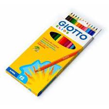 Creioane colorate Elios, 12 bucati, Giotto