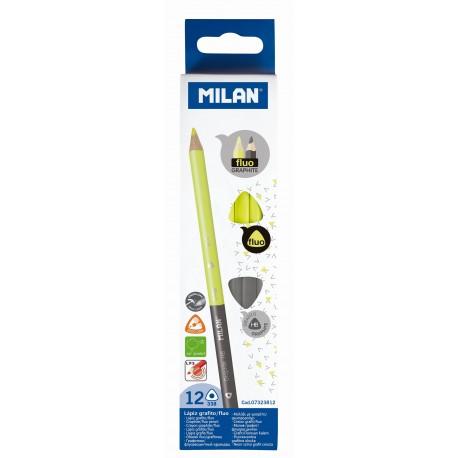 Creion bicolor grafit/evidentiator Milan