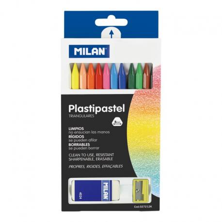 Creion color 12 cerat   radiera   ascutitoare Milan