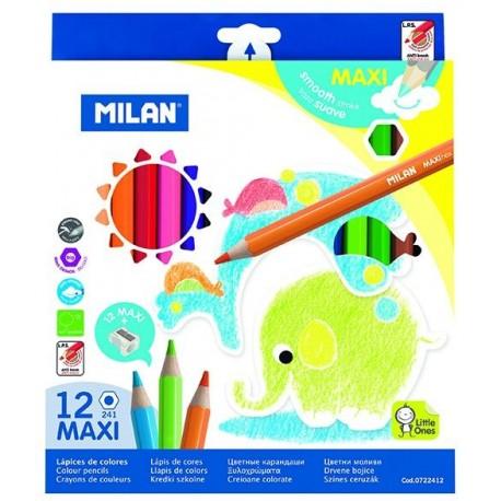 Creion color 12 Maxi triunghiular, Milan