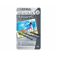 Creion color cerat, pentru artisti, Lyra Aquarell