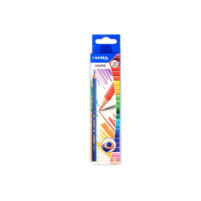 Creion colorat Osiris, 6 buc, Lyra
