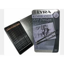 Creion desen profesional Art Design, 12 buc, Lyra Rembrandt