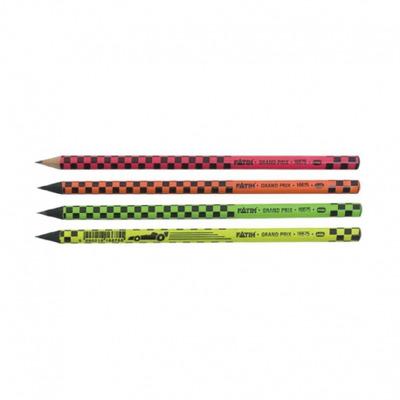 Creion negru cu radiera grandprix
