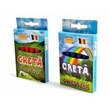 Creta forestiera, 6 buc, rosu, Arhi Design