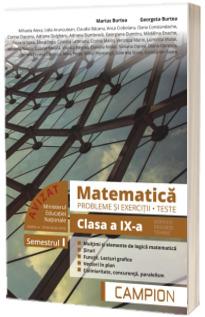 Culegere de matematica, clasa a IX-a. Probleme si exercitii, teste - Profilul tehnic. Semestrul I