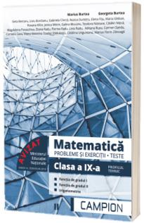 Culegere de matematica, clasa a IX-a. Probleme si exercitii, teste - Profilul tehnic. Semestrul II