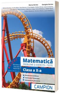 Culegere de matematica, clasa a X-a. Probleme si exercitii, teste - Profilul tehnic. Semestrul II