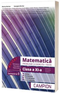 Culegere de matematica, clasa a XI-a. Probleme si exercitii, teste - Profilul tehnic. Semestrul I