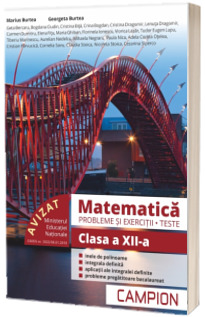Culegere de matematica, clasa a XII-a. Probleme si exercitii, teste - Profilul tehnic. Semestrul II