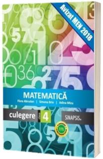 Culegere de Matematica pentru clasa a IV-a, conform programei scolare la 2016 - Flora Abrudan