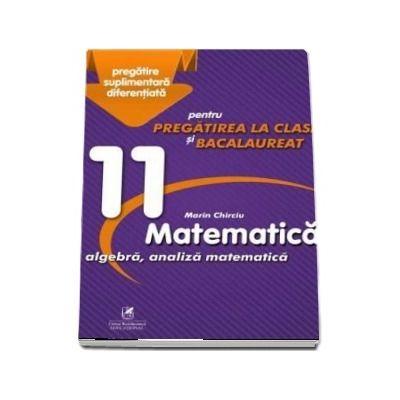 Culegere - Matematica algebra, analiza matematica - Clasa a XI-a - pentru pregatirea la clasa si bacalaureat