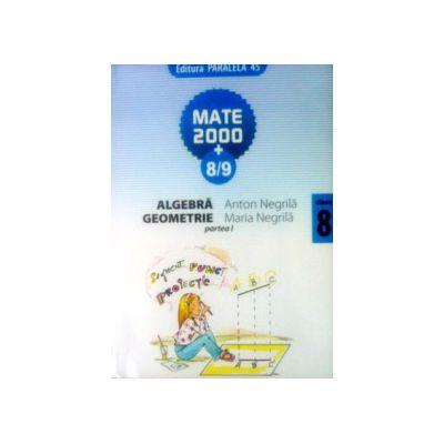 Matematica 2000+8/9 - culegere de exercitii, probleme si teste - cls. VIII-a (partea I)