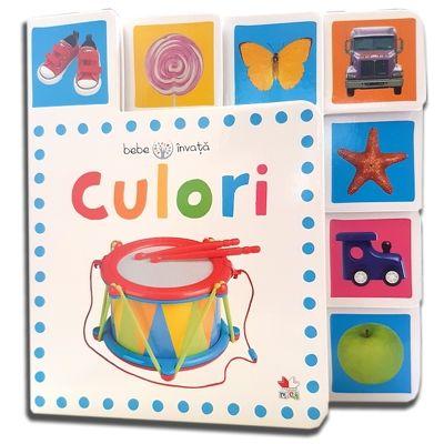 Culori. Bebe invata