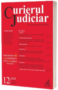 Curierul Judiciar nr. 12/2020