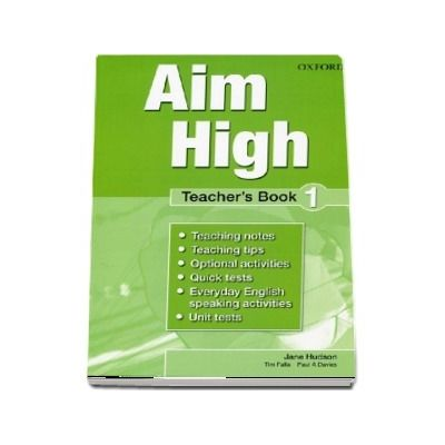 Curs de limba engleza Aim High 1 Teachers Book