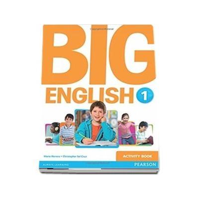 Curs de limba engleza, Big English 1 - Activity book (Mario Herrera)