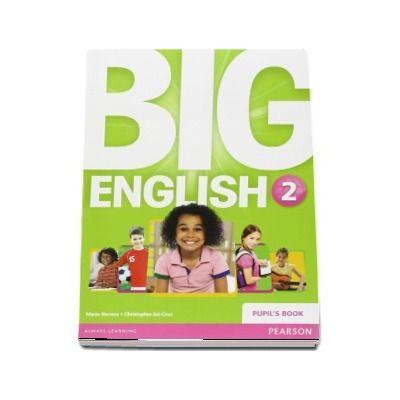 Curs de limba engleza, Big English 2 - Pupils book (Mario Herrera)