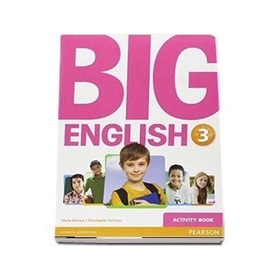 Curs de limba engleza, Big English 3 - Activity book (Mario Herrera)