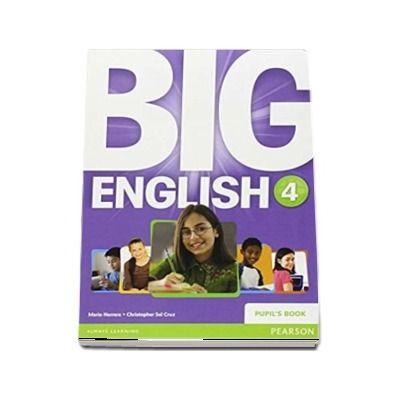 Curs de limba engleza, Big English 4 - Pupils book (Mario Herrera)
