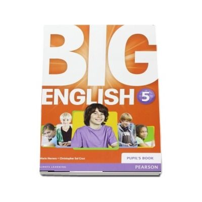 Curs de limba engleza, Big English 5 - Pupils book (Mario Herrera)