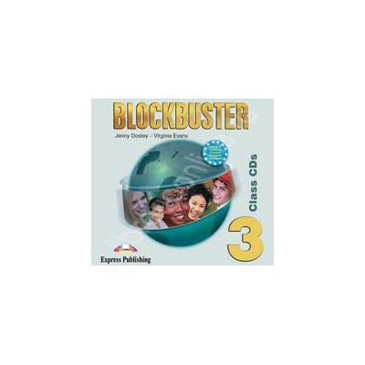 Curs de limba engleza Blockbuster 3 - CD audio (Set 4 cd-urii)