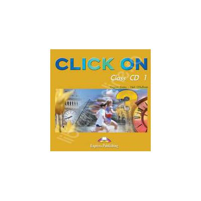 Curs de limba engleza Click On 3. Class audio CD (Set 5 CD)