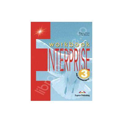Curs de limba engleza. Enterprise 3 Pre-Intermediate. Caietul elevului clasa a VII-a