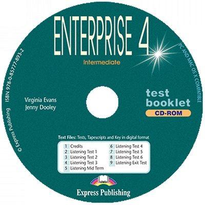 Curs de limba engleza, Enterprise 3. Test Booklet CD-ROM