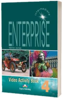 Curs de limba engleza. Enterprise 4. Video Activity Book