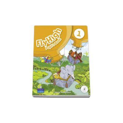 Curs de limba engleza Fly High, level 1 - Pupils Book with Audio CD