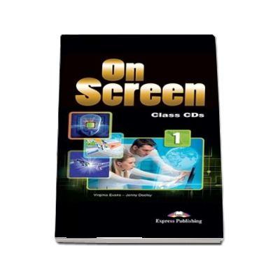 Curs de limba engleza On Screen 1 Class CDs. Set 5 CD-uri pentru clasa a V-a