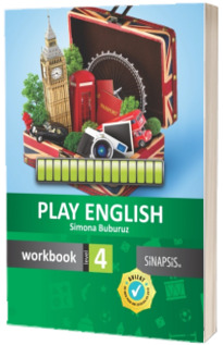 Curs de limba engleza Play English - Workbook for beginners Level 4 (Editie 2016)